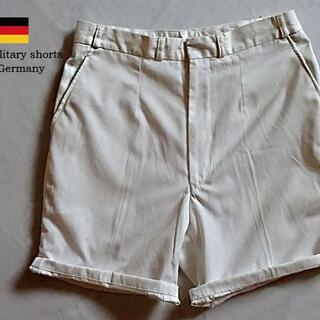 ■deadstock■Germany military shorts(戦闘服)