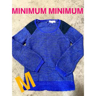 ミニマム(MINIMUM)の《冬物大セール》トップス ニット セーター レディース 美品(ニット/セーター)