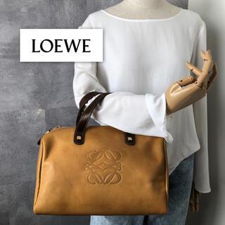 LOEWE - 【美品】ロエベ  ハンドバッグ レザー ミニボストン