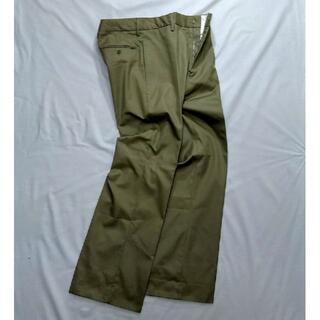 Euro Chinos pants From Italy W82L78.5(戦闘服)