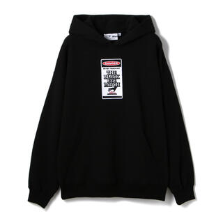 Supreme - BLACK EYE PATCH DANGER HOT LABEL HOODIE