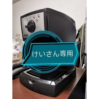 デロンギ(DeLonghi)のデロンギEC152J エスプレッソマシン ブラック×シルバー(エスプレッソマシン)