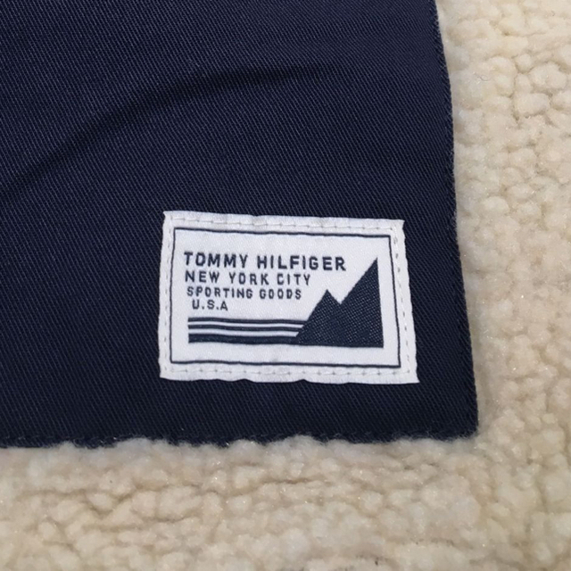 TOMMY HILFIGER(トミーヒルフィガー)のtommy hilfiger フリース ジャケット リバーシブル レディースのジャケット/アウター(ブルゾン)の商品写真
