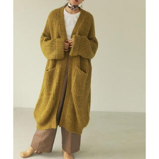 トゥデイフル(TODAYFUL)の専用 TODAYFUL Lowgauge Knit Gown ニットカーディガン(カーディガン)