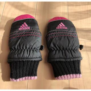 アディダス(adidas)のアディダス ★ キッズ 手袋 ミトン 子供 幼児 ピンク(手袋)