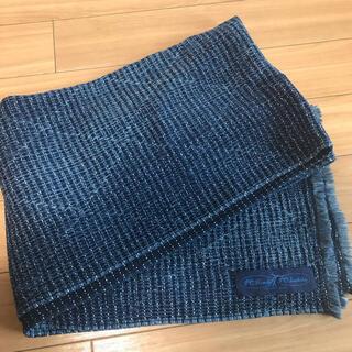 【美品】ポータークラシック 大判刺子ストール 180×60cm