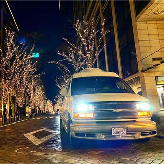 Chevrolet - 【ローン可能】シボレーエクスプレススターカスタム希少6穴ホイール車検R4年7月迄