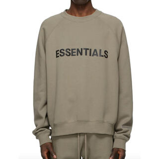 FEAR OF GOD - XXL 20FW FOG Fear Of God Essentialsスウェット