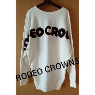 ロデオクラウンズ(RODEO CROWNS)のRODEO CROWNS★ビッグスウェット トレーナー(トレーナー/スウェット)