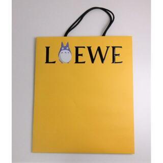 ロエベ(LOEWE)のLOEWE ロエベ トトロ 紙袋 ショッパー イエロー(その他)