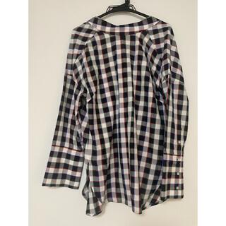 ENFOLD - 【定価4万円以上】ナゴンスタンス チェックシャツ ブラウス トップス