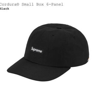 Supreme - supreme small box logo 6panel black 黒