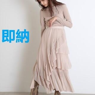 snidel - シアーボリュームプリーツスカート