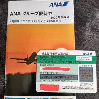 エーエヌエー(ゼンニッポンクウユ)(ANA(全日本空輸))のANA 株主優待券1枚 冊子付(その他)