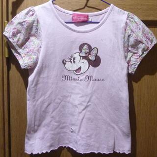 ディズニー(Disney)の東京ディズニーリゾート ミニーちゃんのTシャツ サイズ120 [689](Tシャツ/カットソー)