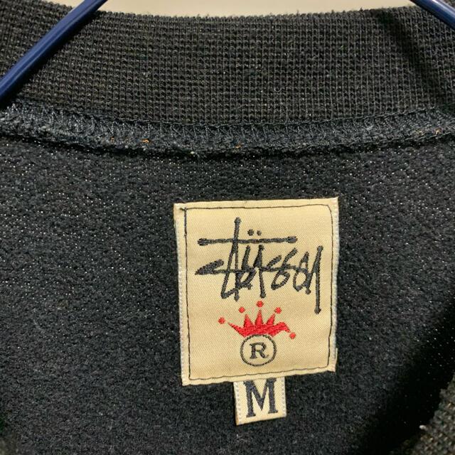 STUSSY(ステューシー)の90s ステューシー ビックロゴ スエット トレーナー M メンズのトップス(スウェット)の商品写真