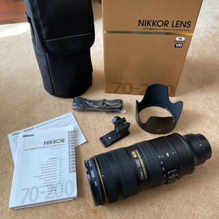 Nikon - NIKON AF-S NIKKOR 70-200 f/2.8G ED VR2