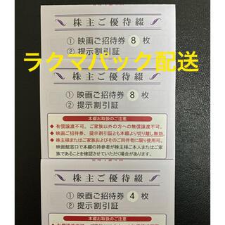 東京テアトル 株主優待券20枚 提示割引証3枚(その他)
