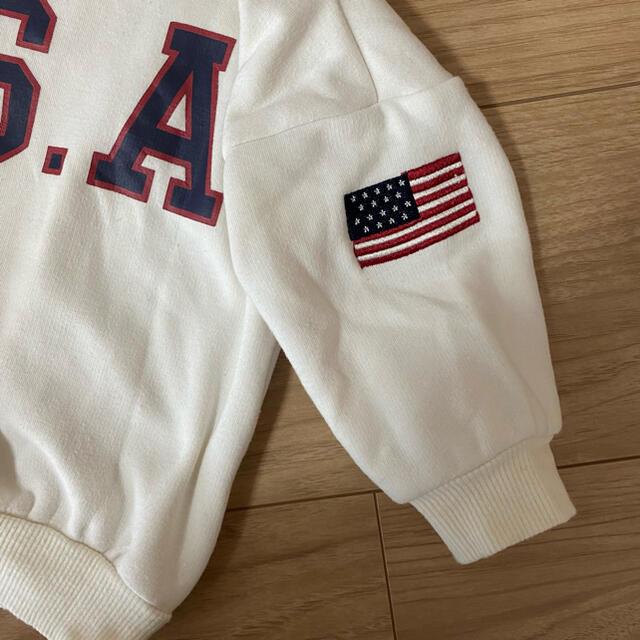 futafuta(フタフタ)のLAGKAW USAトレーナー 80㎝ キッズ/ベビー/マタニティのベビー服(~85cm)(トレーナー)の商品写真