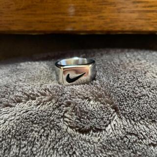 【数量限定価格!!】ナイキ NIKE シルバーリング 台座 指輪(リング(指輪))