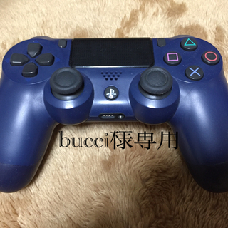 PlayStation4 - ps4 コントローラー 紺色