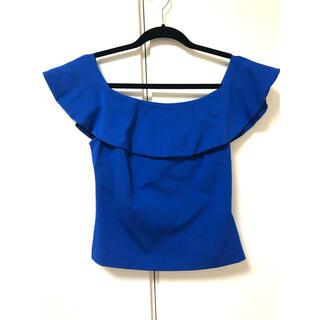 テッドベイカー(TED BAKER)のテッドベーカー トップス ブルー サイズ1(カットソー(半袖/袖なし))