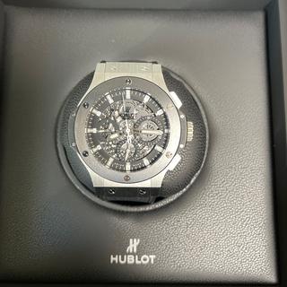 ウブロ(HUBLOT)のHUBLOT アエロバン スチールセラミック (腕時計(デジタル))