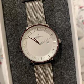 ダニエルウェリントン(Daniel Wellington)のノードグリーン シルバー 36mm(腕時計)