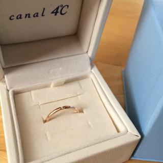 カナルヨンドシー(canal4℃)の【12月まで保証有】4℃ PGリング(リング(指輪))