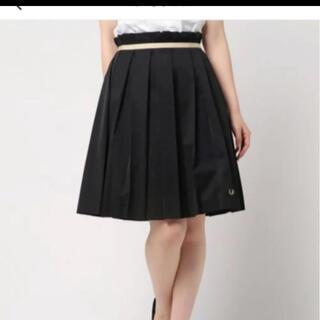 フレッドペリー(FRED PERRY)のプリーツスカート(ひざ丈スカート)