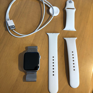 Apple Watch - Apple Watch SE 44mm シルバー