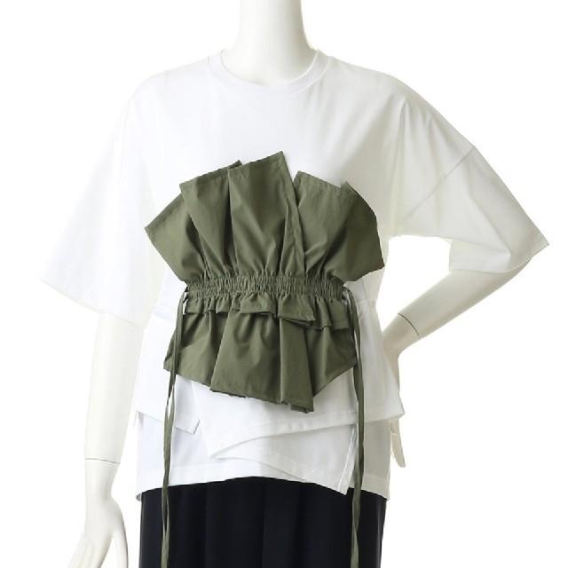 ENFOLD(エンフォルド)のエンフォルド コレクションラインカットソー レディースのトップス(カットソー(半袖/袖なし))の商品写真