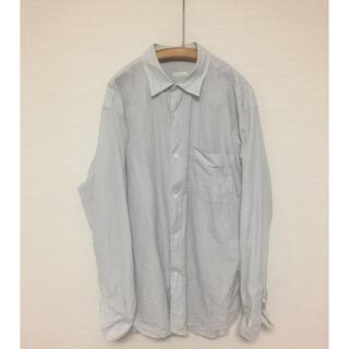 COMOLI - COMOLI シャツ ピンストライプ サイズ2  紙タグ付属 コモリ 定番シャツ