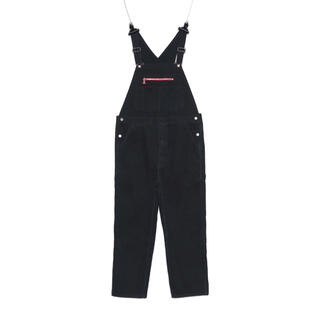 PEACEMINUSONE - PMO DENIM OVERALL  BLACK peaceminusone