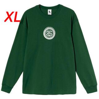 ステューシー(STUSSY)のstussy nike SS LINK LS TEE  GREEN XL(Tシャツ/カットソー(七分/長袖))