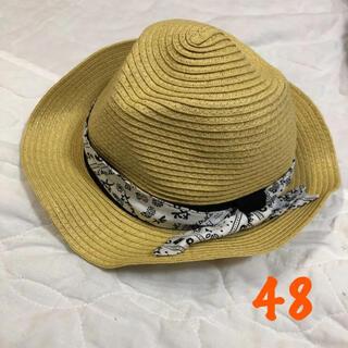 エフオーキッズ(F.O.KIDS)のアプレレクール 48cm   帽子 ペーパーハット(帽子)