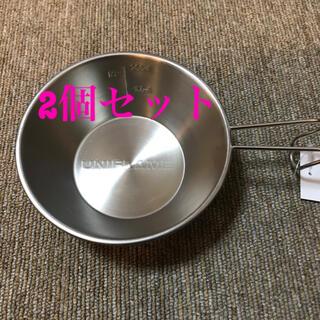 ユニフレーム(UNIFLAME)の新品 ユニフレーム チタンシェラカップ 2個セット(食器)