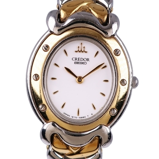 セイコー(SEIKO)のセイコー クレドール   1E70-3A80  ステンレススチール(腕時計)