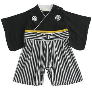 袴ロンパース 70cm(ロンパース)
