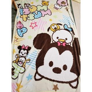 ディズニー(Disney)の新品ツムツムシングルサイズ毛布(毛布)