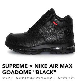 Supreme - シュプリーム × ナイキ エアマックス ゴアドーム ブラック