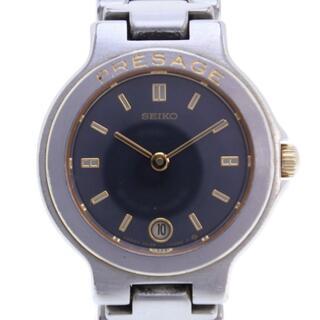セイコー(SEIKO)のセイコー プレサージュ   3E29-0060  ステンレススチー(腕時計)