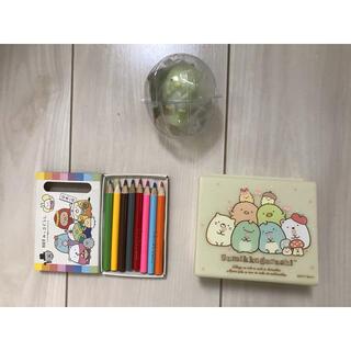 サンエックス - すみっこぐらし ミニ色鉛筆 ケース ボールペン