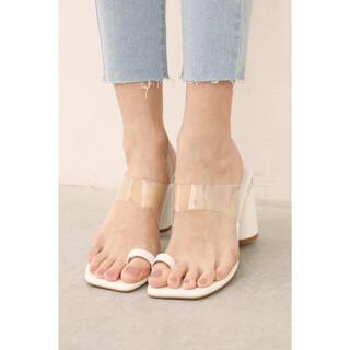 アリシアスタン(ALEXIA STAM)のALEXIA STAM ★ Clear Strap Sandals(サンダル)