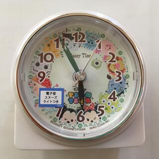 ディズニー(Disney)のディズニー ツムツム 目覚まし時計(SEIKO セイコー)(置時計)