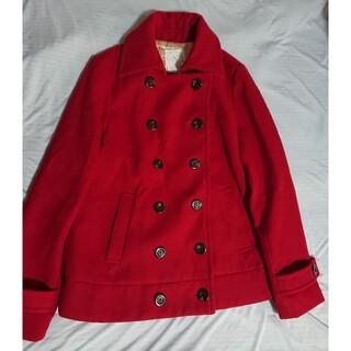 イーハイフンワールドギャラリー(E hyphen world gallery)のイーハイフンワールドギャラリー コート 赤 pコート Pコート ピーコート(ピーコート)