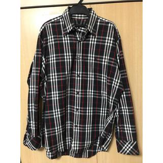 バーバリーブラックレーベル(BURBERRY BLACK LABEL)のバーバリーブラックレーベル シャツ Lサイズ(シャツ)