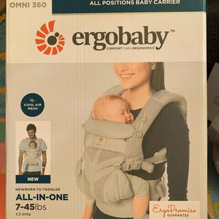 エルゴベビー(Ergobaby)のエルゴベビー オムニ360 クールエアメッシュ 抱っこ紐(抱っこひも/おんぶひも)