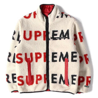 シュプリーム(Supreme)の新品Supreme Reversible Logo Fleece Jacket (その他)