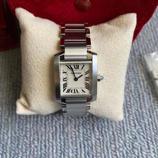 Cartier - 美品 カルティエ タンク フランセーズ SM 腕時計 Cartier